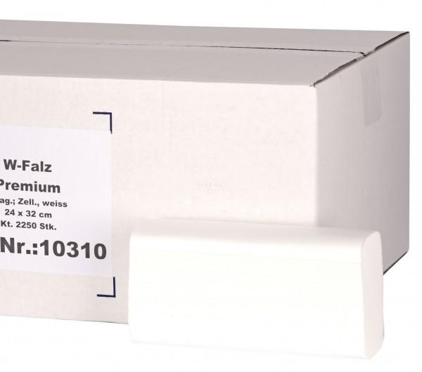 Papierhandtücher Premium W-Falz 3-lagig (2250Stk)