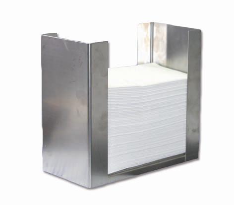 Serviettenhalter für 40 x 40 cm, 1/8 Falz