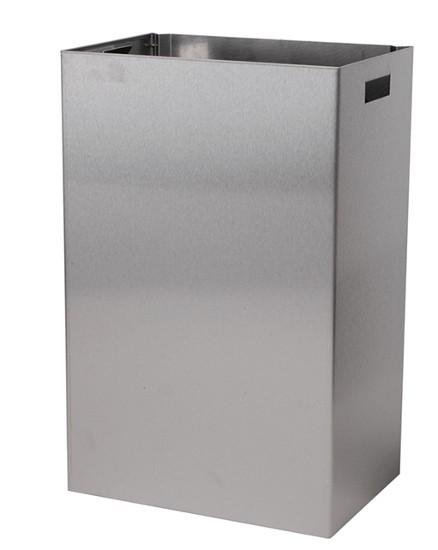 Edelstahl Abfallbehälter 22 Liter