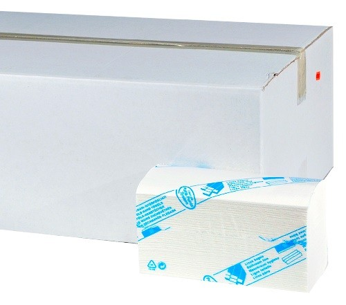 Papierhandtuch W-Falz 3-lagig Premium Zellstoff