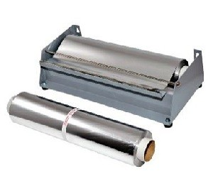 Fresh and aluminium foil cutter for 30 cm wide rolls