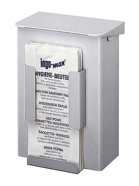 HB 1 Contenitore per rifiuti igienici da donna con dispenser per sacchetti igienici 6l