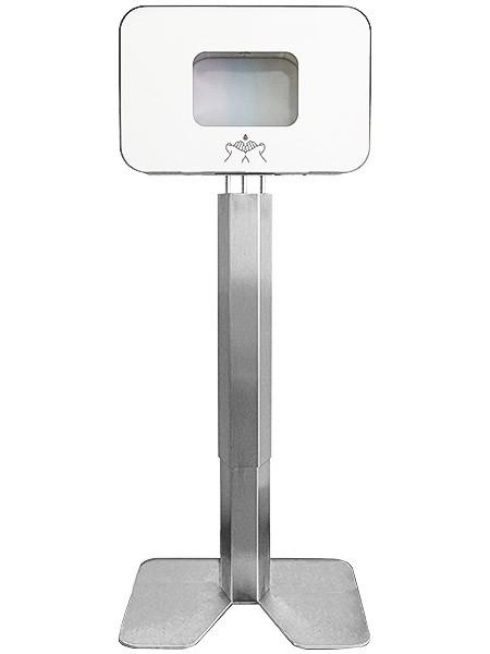 Station d'hygiène de première qualité avec distributeur de désinfectant sans contact Praesidio