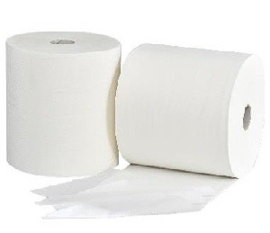 Midi cleaning roll 3-ply cellulose (for CWS dispenser)