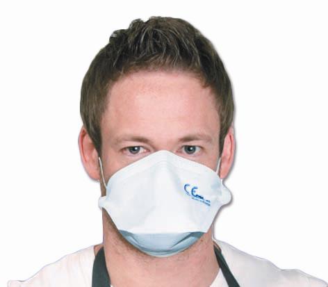 Atemschutzmaske Super Protect FFP2, Vlies Paket à 25 Stück