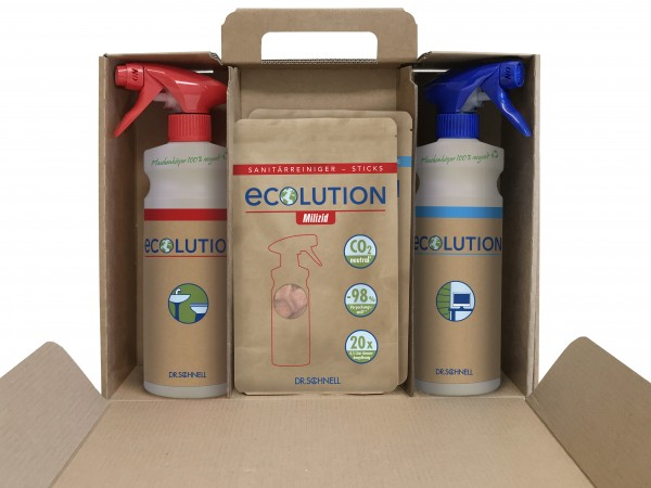 Ecolution Starter Kit with Milizid and Forol Sticks