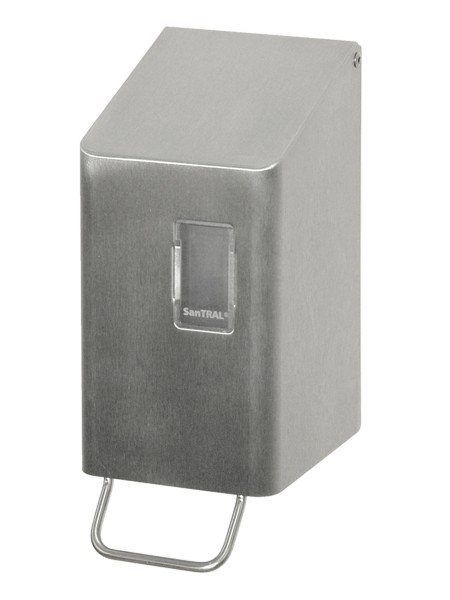 NSU 2 Schaumseifenspender Edelstahl 250ml