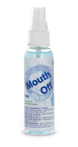 Mouth Off Mini Sprühflasche
