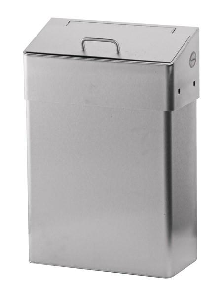 Hygiene Abfallbox Edelstahl 10l