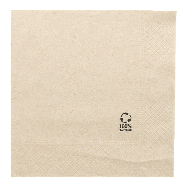 Recycling Towel, 33 x 33cm, 2-lagig