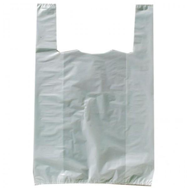 50 Liter Quick Tie Abfallbeutel mit 2 Schlaufen zu