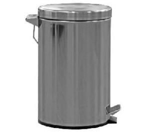 Treteimer 13.2 Liter Edelstahl