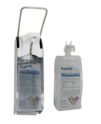 hand-it care Händedesinfektion 500 ml Beutel