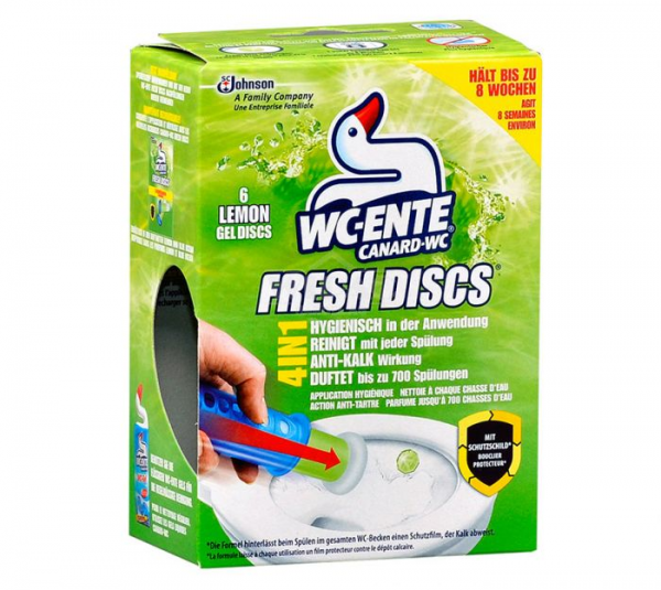 WC-Ente Fresh Discs Lemon