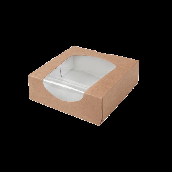 Bio Kartonbox mit Fenster 600ml