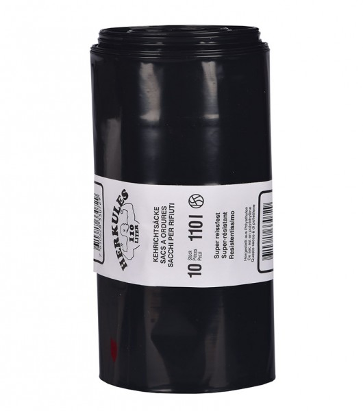Premium refuse sack 110 litres tough