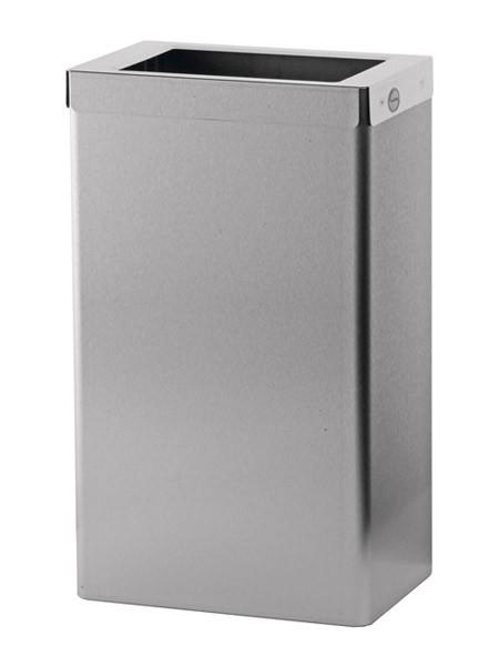 Abfallbehälter Edelstahl 50l