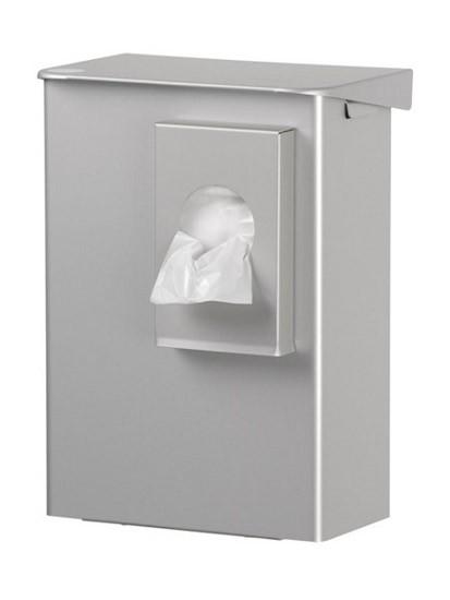 Hygieneabfallbox und Hygienebeutelspender Aluminium
