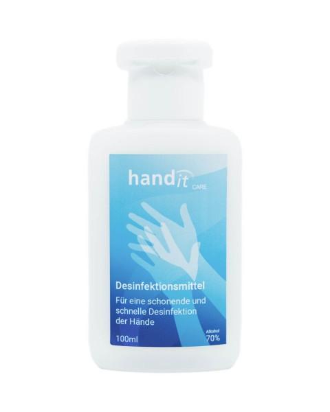 cura delle mani cura disinfettante per le mani 100ml in bottiglia grembiule