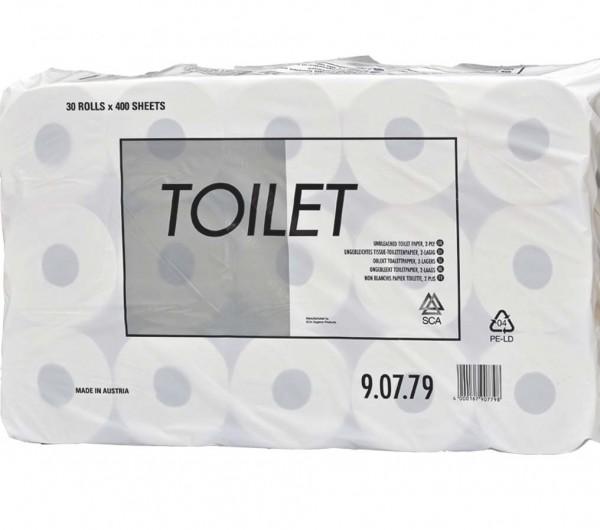 400 Blatt WC-Papier 2-lagig
