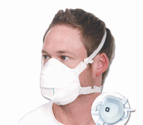 Atemschutzmaske FFP3, PP Paket à 10 Stück