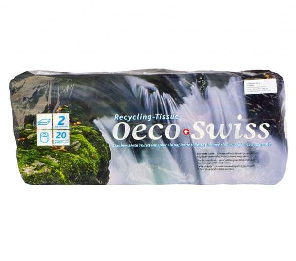 Oeco Swiss Toilettenpapier 2-lagig