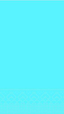 Serviette Tissue 3-lagig aqua blau