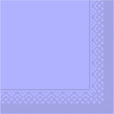 Servietten Tissue 3-lagig lila