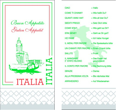 Serviette Tissue 2-lagig ITALIA