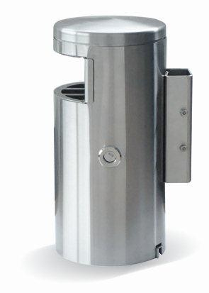 HELVETIAbin 60 litres free-standing with side ashtray