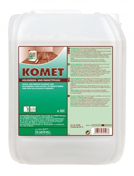 Komet Holzboden und Parkettpflege 10l