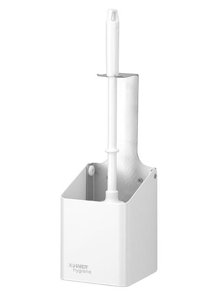 WC-Bürstenhalter Edelstahl weiss