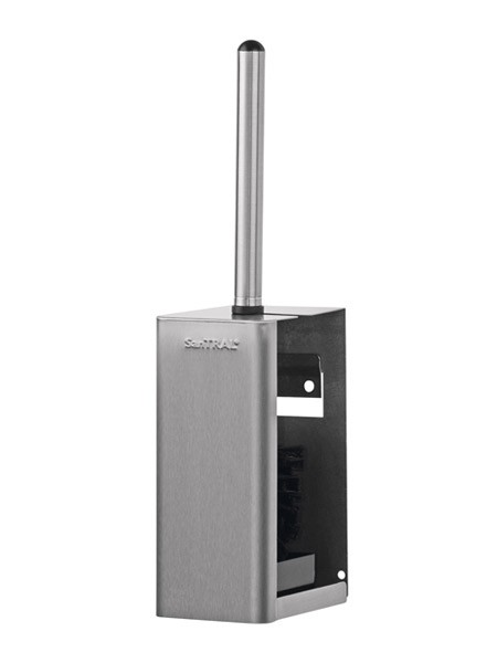 WBU 3 porte-balai pour toilettes en acier inoxydable