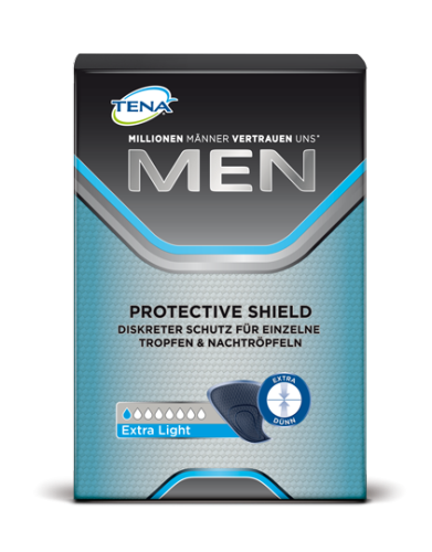 Tena Men Protective Shield extra light Inkontinenz Einlagen