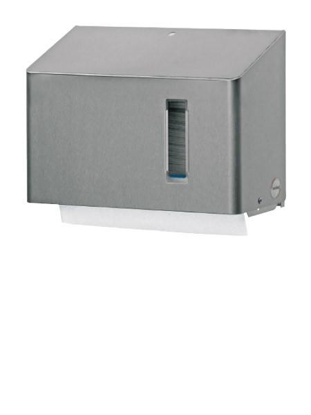Papierhandtuchspender Edelstahl 250 Blatt Interfol