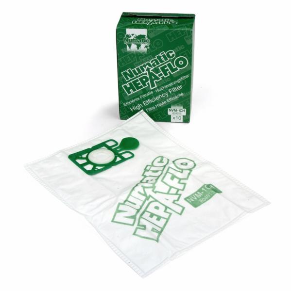 Sacchetto di polvere Hepa-Flo fleece NVM-1AH