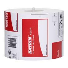 KATRIN System WC-Papier, 2-lagig Zellstoff weiss