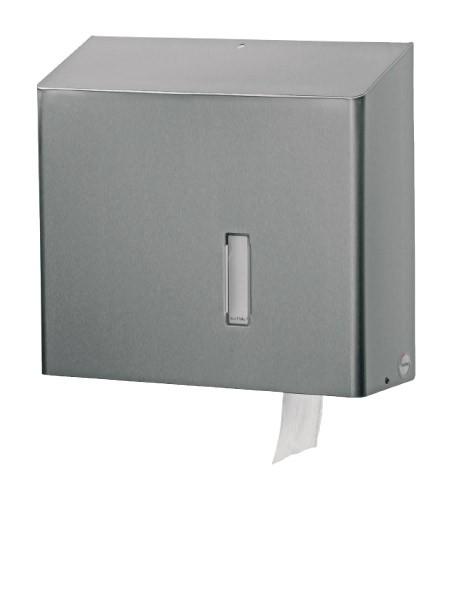 Toilettenpapierspender Edelstahl Jumborollen