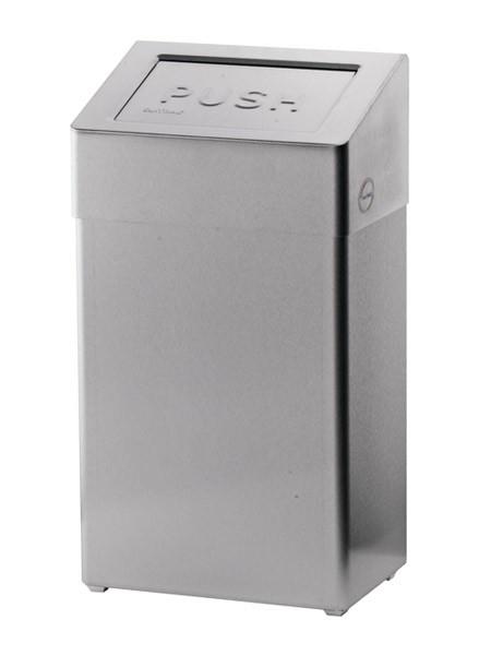 Abfallbox Edelstahl 50l