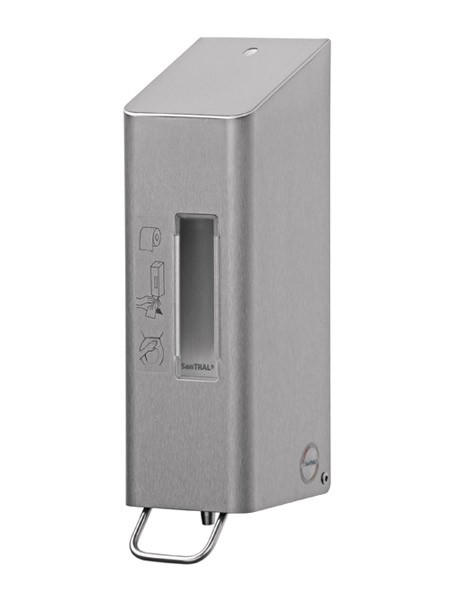 TSU 5 WC-Desinfektionsmittelspender Edelstahl 600ml