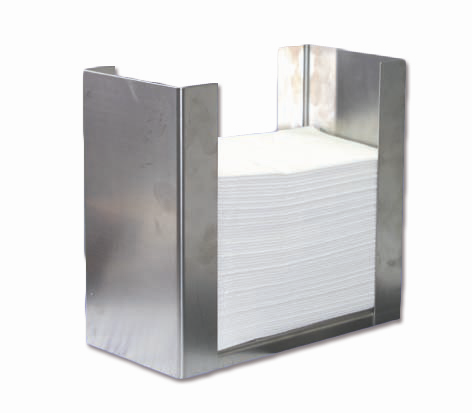 Serviettenhalter für 33 x 33 cm, 1/8 Falz