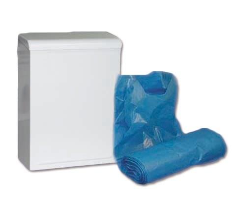 Hygieneabfallbehälter Wallbox weiss