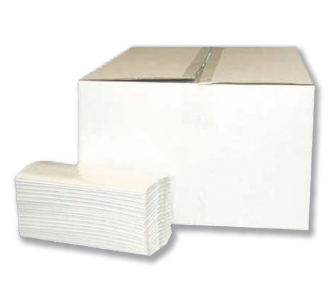 Papierhandtuch V-Falz Decor 2-lagig