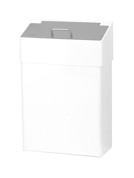Hygiene Abfallbox Edelstahl weiss 10l