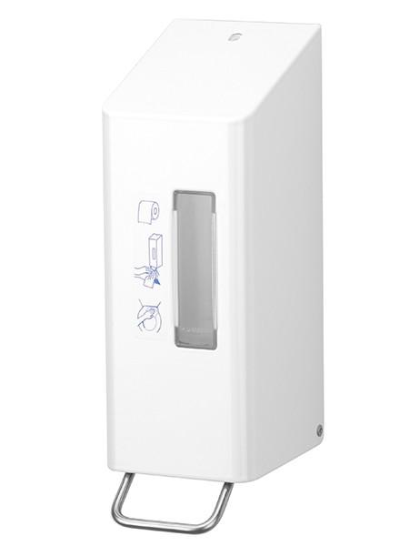 TSU 5 WC-Desinfektionsmittelspender Edelstahl weiss 600ml
