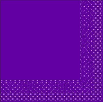 Servietten Tissue 3-lagig aubergine