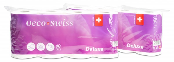 Papier toilette Oeco Swiss Deluxe
