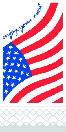 Serviette Tissue 2-lagig USA